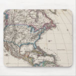 America by Stieler Mouse Pad