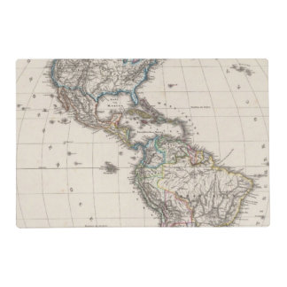 America by Stieler Placemat