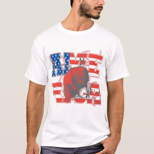 América: Camiseta roja, blanca y azul