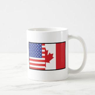 America Canada Coffee Mug