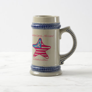 America Cares...We Care! Beer Stein