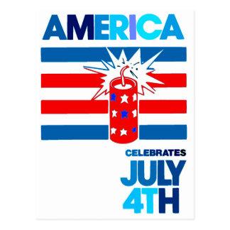 América - celebración - rojo y azul