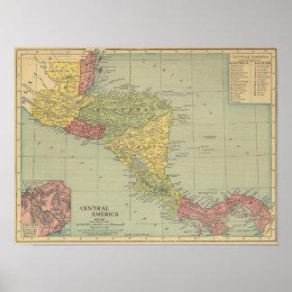 America Central 5 Póster