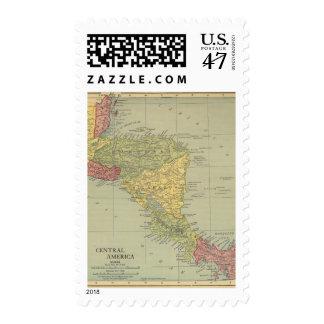 America Central 5 Sellos Postales
