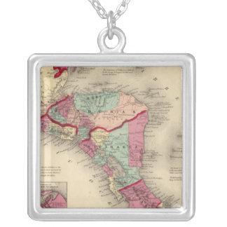 America Central 6 Colgante Cuadrado