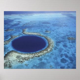 AMERICA CENTRAL, Belice, arrecifes de coral grande Impresiones