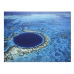 AMERICA CENTRAL, Belice, arrecifes de coral grande Tarjetas Postales