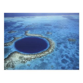 AMERICA CENTRAL, Belice, arrecifes de coral Postal