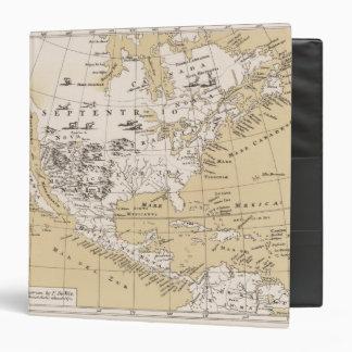 """América, cerca de 1670 carpeta 1 1/2"""""""