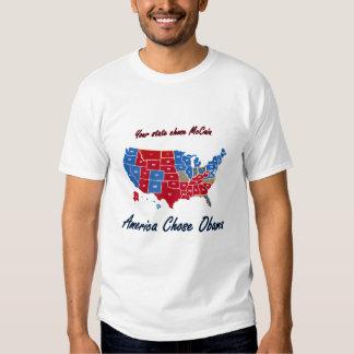 America Chose Obama T-Shirt