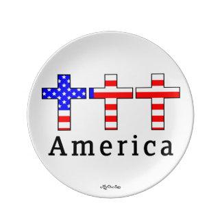 America Christianity! 8.5 PLATE