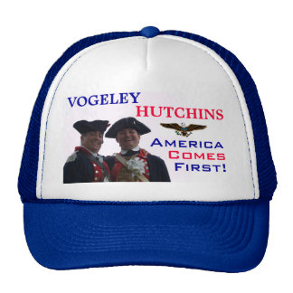 America Comes First Trucker Hat