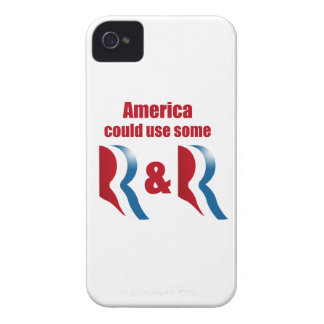 AMERICA COULD USE SOME R AND R -.png iPhone 4 Cover