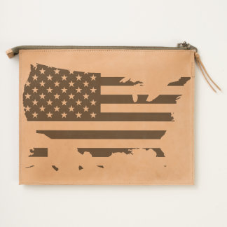 America Country US Travel Pouch