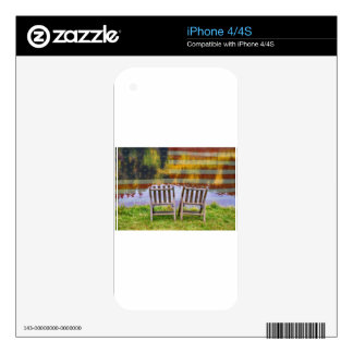 America Day Dreaming For Two iPhone 4 Decals