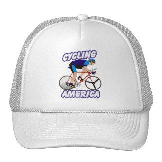 América de ciclo gorras de camionero