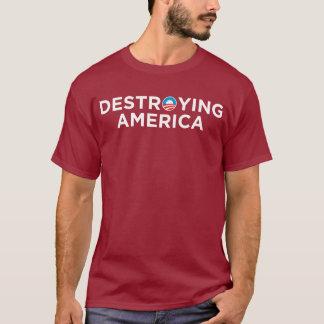 América de destrucción playera