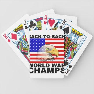 América: De nuevo a campeones traseros de la guerr Cartas De Juego