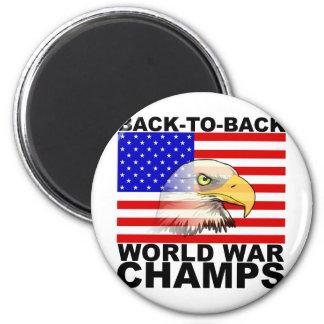 América: De nuevo a campeones traseros de la guerr Imán Redondo 5 Cm
