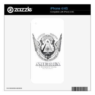 America Design by TEO iPhone 4 Skin