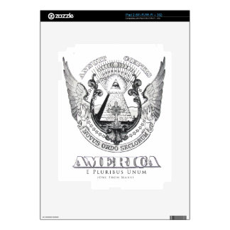 America Design by TEO Skin For The iPad 2