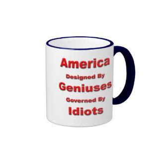 America: Designed by Geniuses Mug