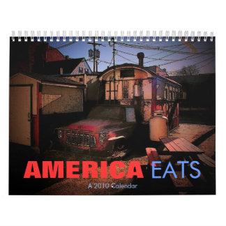 America Eats 2010 Calendar