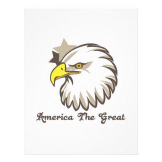 América el grande membrete