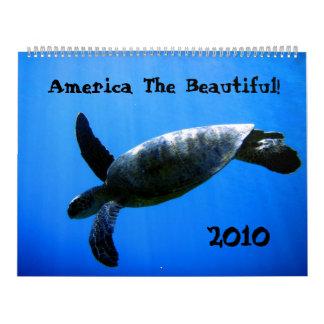 ¡América el hermoso! Calendarios De Pared