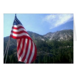 América el hermoso tarjeta