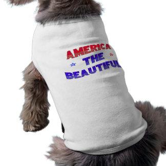 América el mascota hermoso Jacket~ Playera Sin Mangas Para Perro