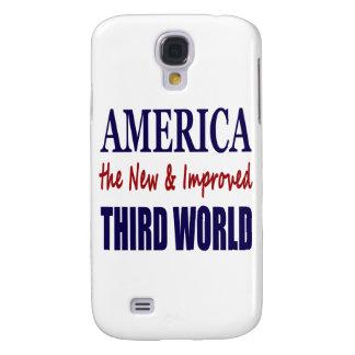América el TERCER MUNDO nuevo y mejorado Funda Para Galaxy S4