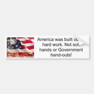 América era creado o… pegatina para auto