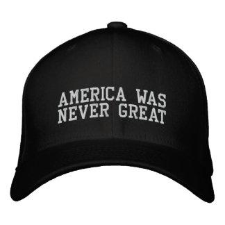 América era gran gorra de béisbol de Bever