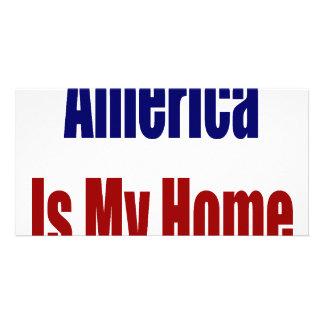 América es mi hogar tarjeta personal