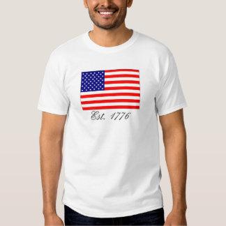 América, Est. 1776 Poleras