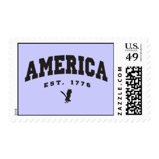 America Established 1776 Eagle Stamp