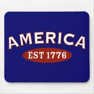 America Established 1776 Mouse Pad