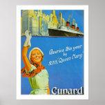 América este año por RMS Queen Mary Posters