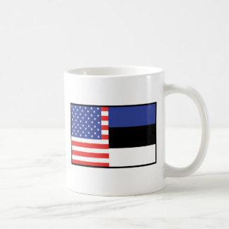 America Estonia Coffee Mug
