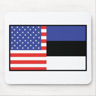 America Estonia Mouse Pads