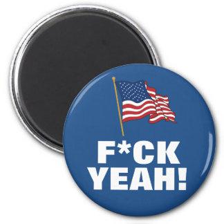 AMERICA: F*CK YEAH! FRIDGE MAGNETS