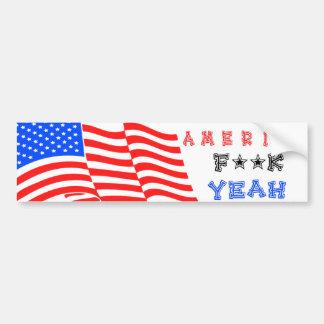 America F**k Yeah! Bumper Stickers