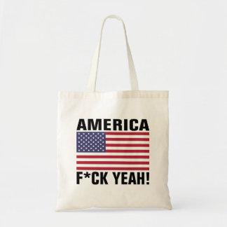 America FCK Yea! Tote Bag