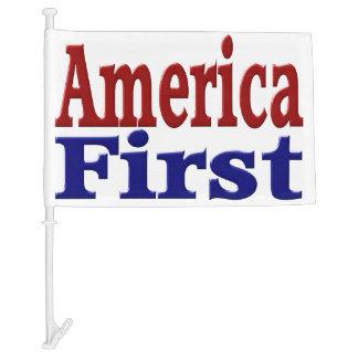 America First Car Flags