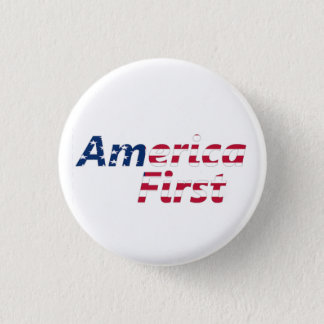 America First Pinback Button