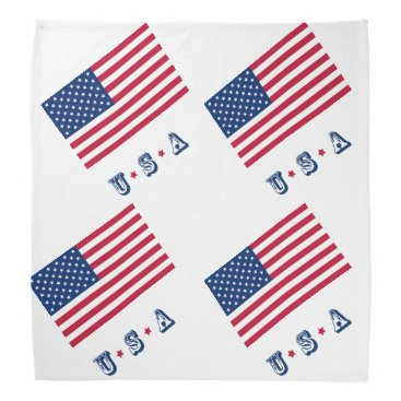 America flag American USA Bandana