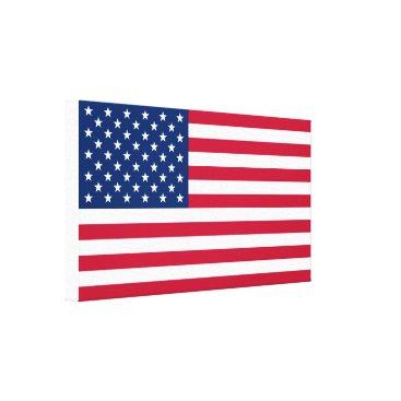 America flag American USA Canvas Print
