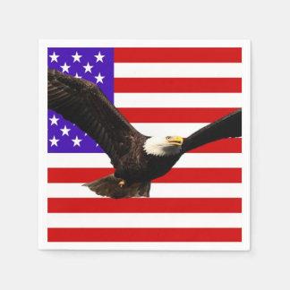 America flag American USA Paper Napkin