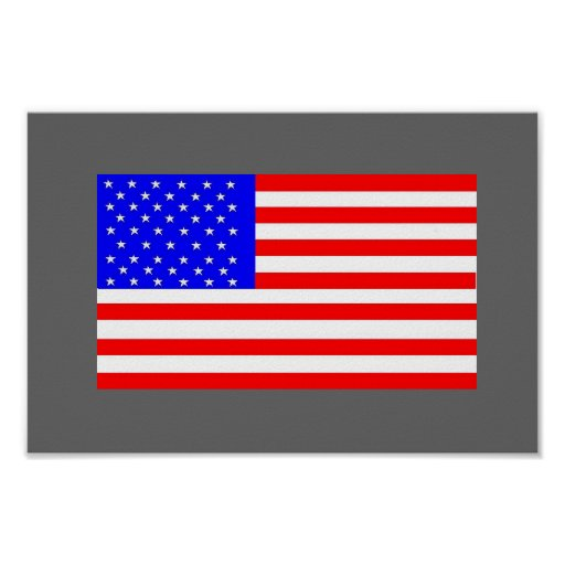 America Flag by:da'vy Posters